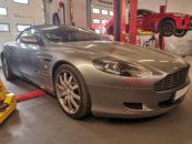 Aston martin w warsztacie